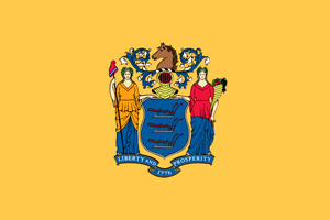 New Jersey flag to show that online course is approved by the State of New Jersey